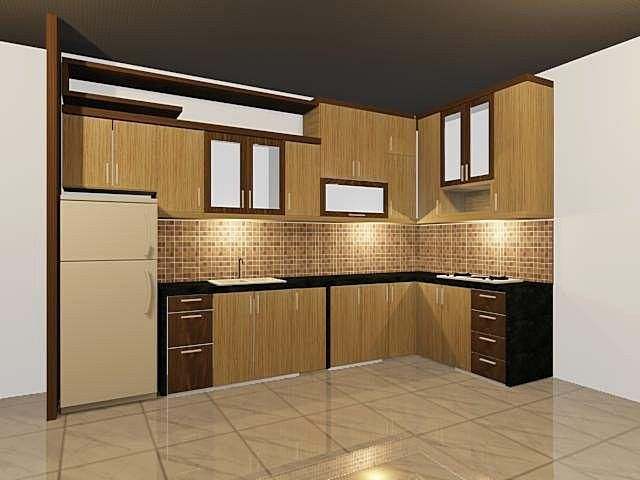 model kitchen set terbaru dapur minimalis idaman