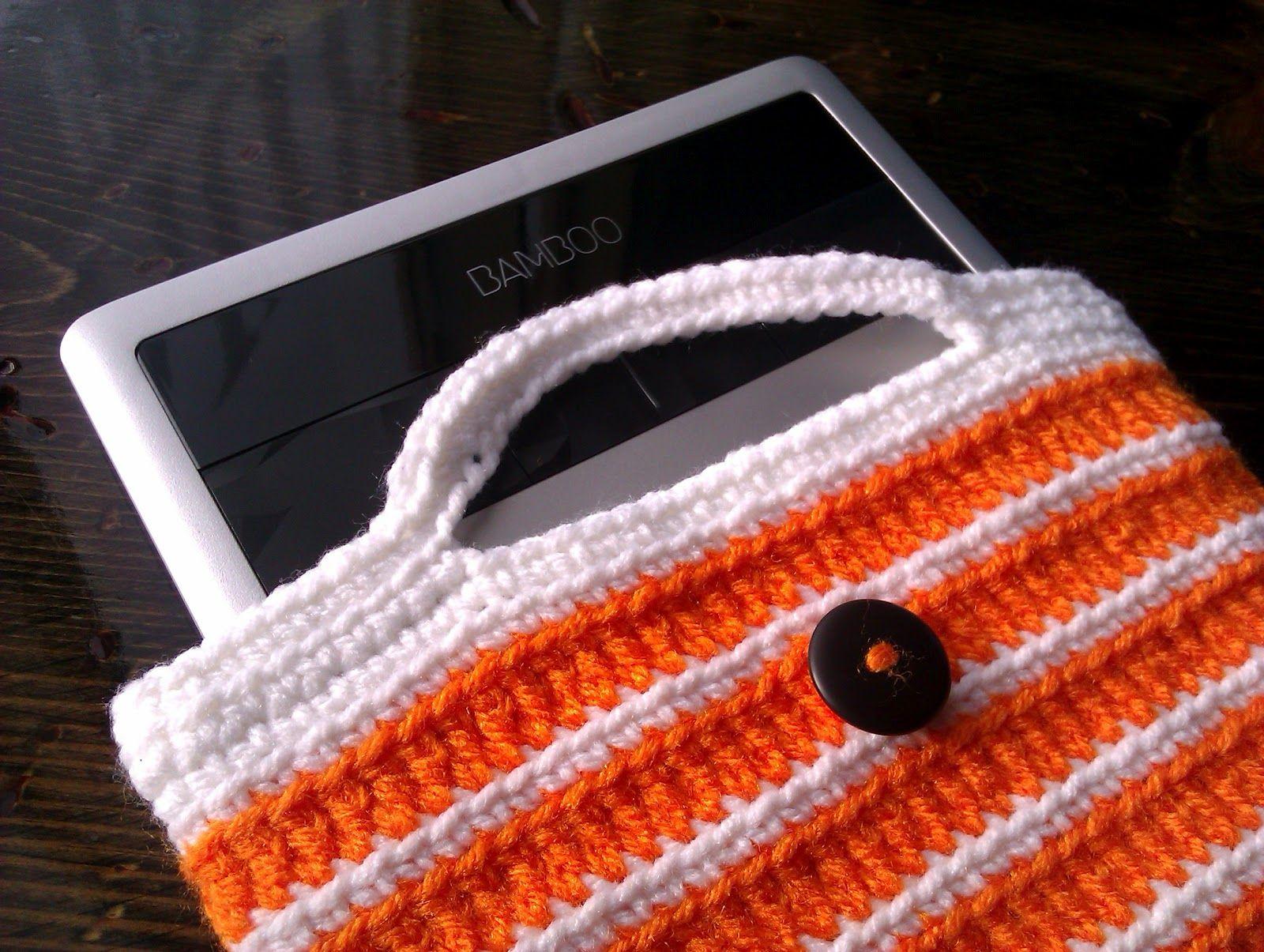 becf48d6f Handmade by Haniyya  FREE Crochet Pattern for Wacom Bamboo Tablet Crochet  Jacket