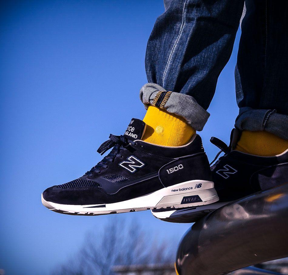 buy popular ba374 2ea9a ... Solekitchen Sneakerstore. Blau-Lila New Balance M1500 JDA