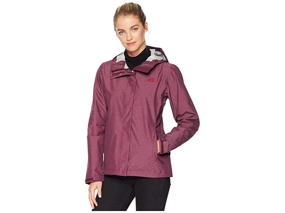 The North Face Venture 2 Jacket (Fig Heather) Women's Coat