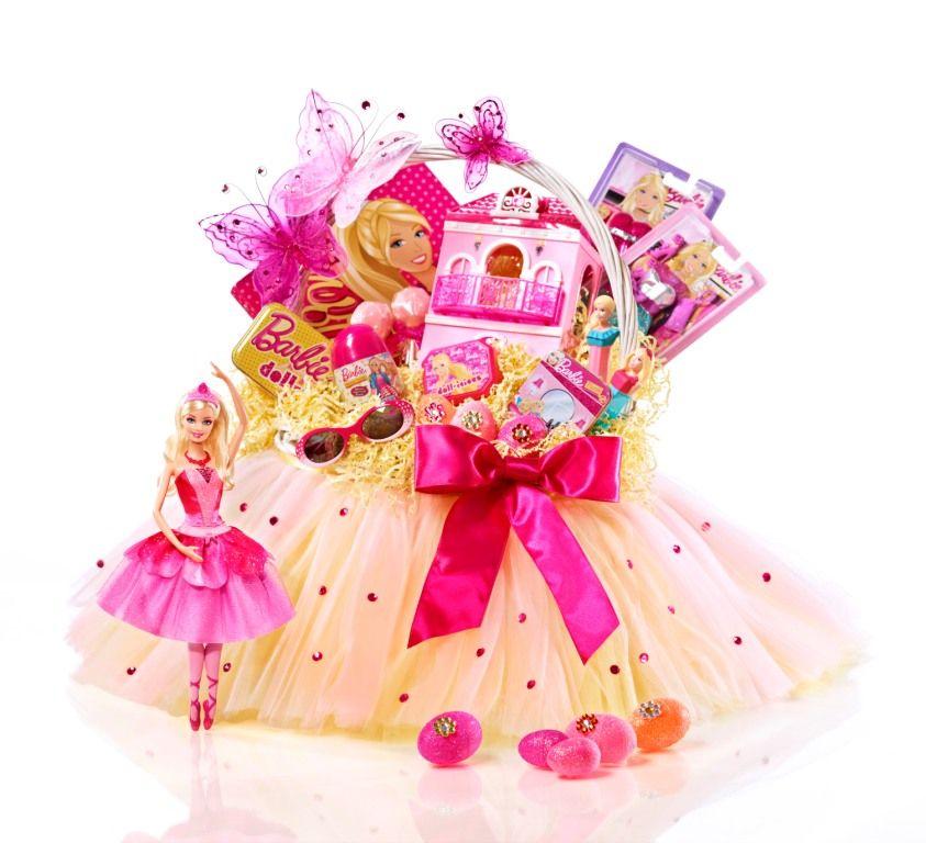 Barbie easter basket easter pinterest easter baskets easter barbie easter basket negle Gallery