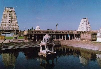 this temple is home to a 3500 year old mango tree. kanchipuram and mamallapuram are unreal.
