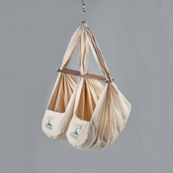 Zwillingswiege  Federwiege | Baby hammock and Babies