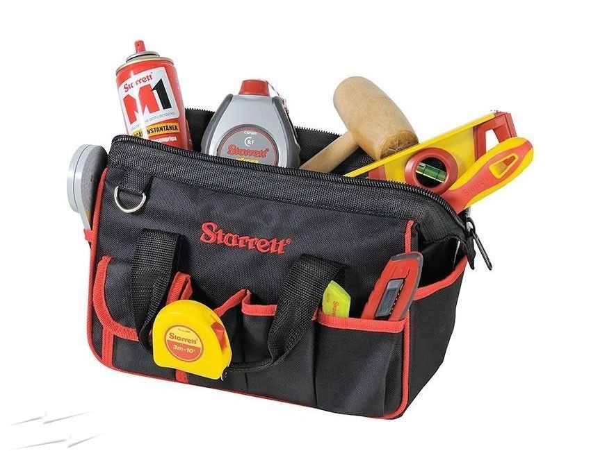 Starrett Compact Tool Bag 300 X 170 X 220mm With 12 External And 6