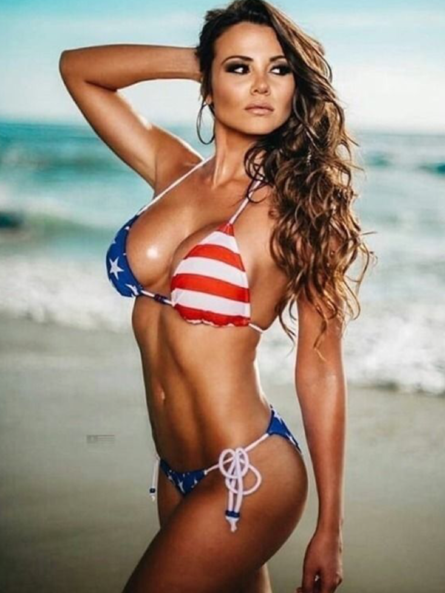 8c0a270be5 Bikini Babes, Bikini Girls, Thong Bikini, Bathing Suits, Patriotic Swimwear,  American