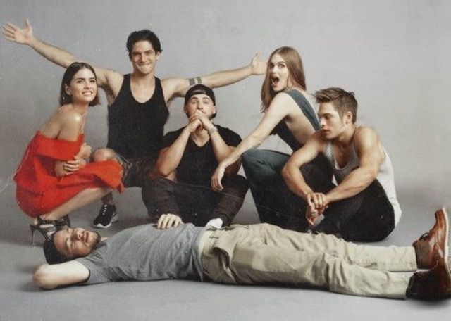 Cast of Teen Wolf