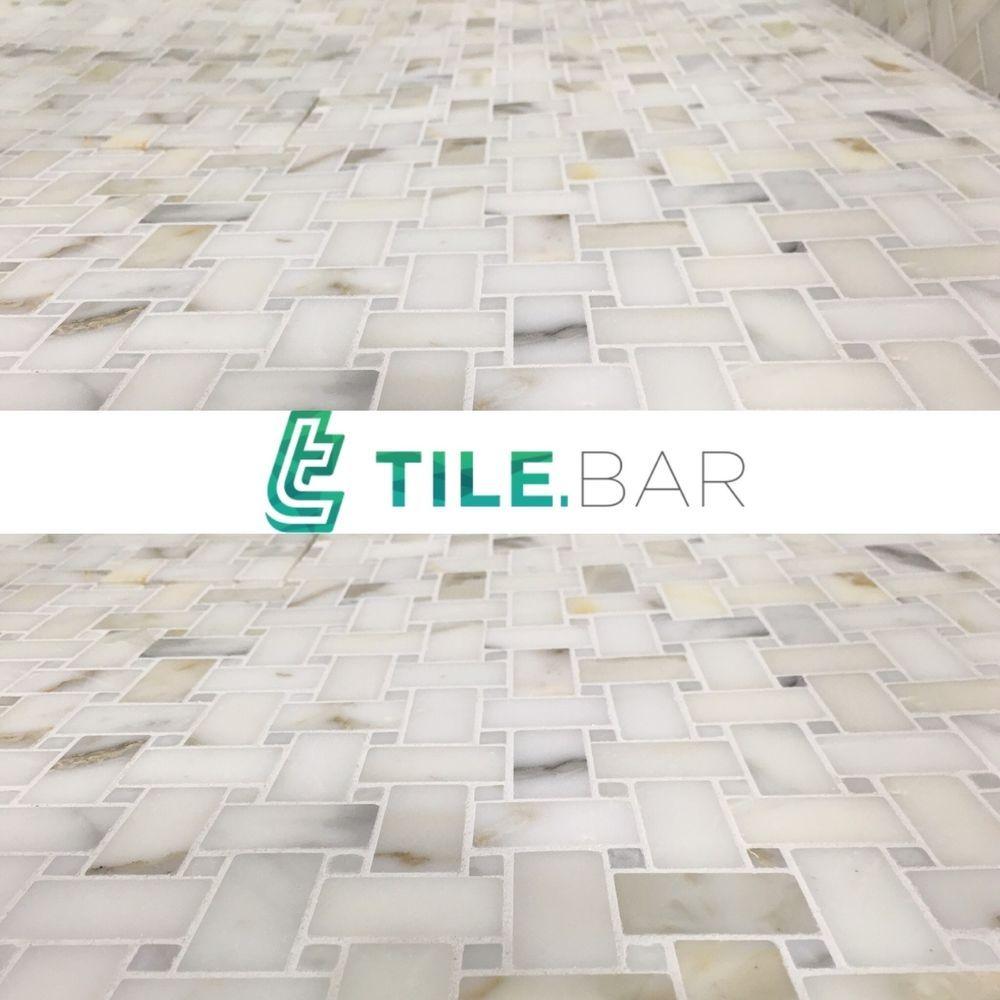 Basketweave tile bathroom pictures - 10sqft Italian Calcutta Gold Basketweave Mosaic Tile Bathroom Kitchen Backsplash Tilebar