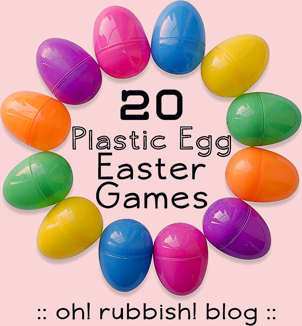 Photo of :: 20 Easter Egg Games :: Fun Plastic Egg Games for Kids ::