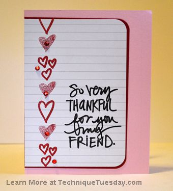 cute for a journaling card especially for Valentin'es Day.