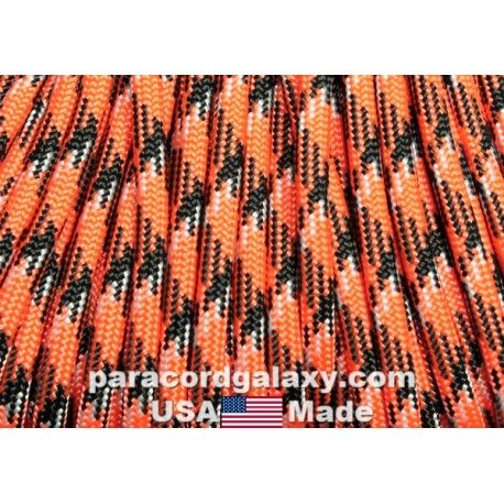 550 Paracord Spicy Pumpkin 100 Ft Made In Usa 550 Paracord
