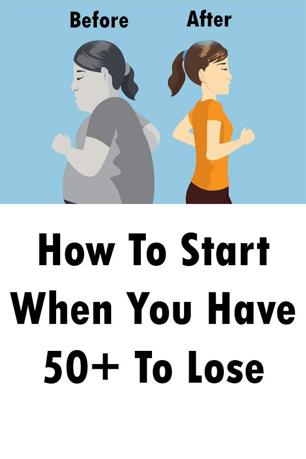 How To Start When You Have 50+ To Lose