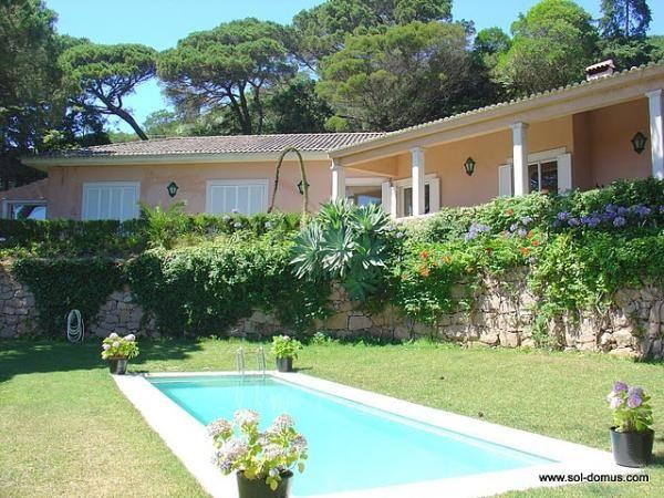 Piscina Villa D Alm.Casa De Campo Aluguer De Ferias Em Cascais Reserve E Alugue