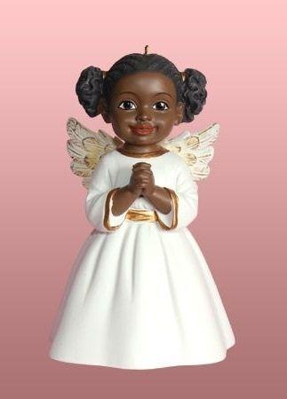 Black Angel For Christmas Tree