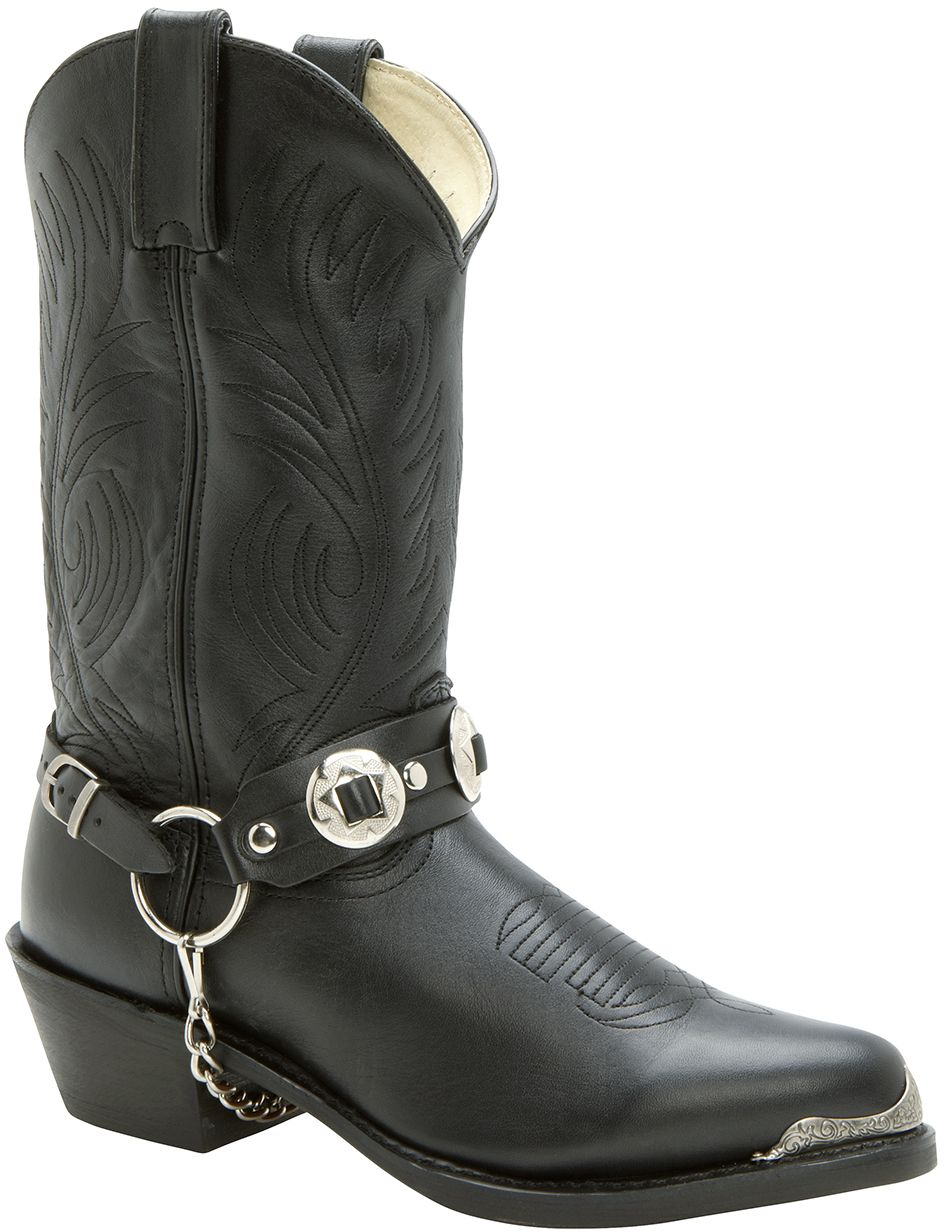711bb4042c2 DB560 Durango Men's Harness Chain Western Boots - Black | clothes ...