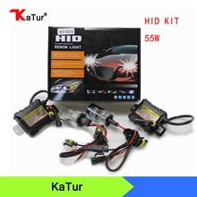 55W HID Xenon Conversion Kit H1 H3 H4 H7H8//H9//H11 9005 9006 Premium Slim Ballast