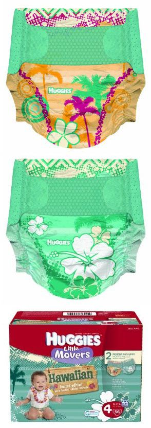 Huggies Hawaiian diapers. This will be the only thing my child wears- this and a bow of course