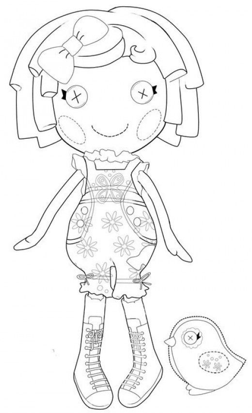 The Best Lalaloopsy Dolls Coloring Pages | Lalaloopsy, Colorear y Molde