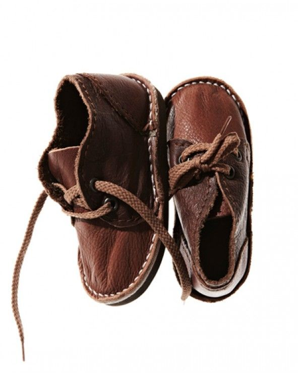 Mixed Brown Leather Mini | Baby boy