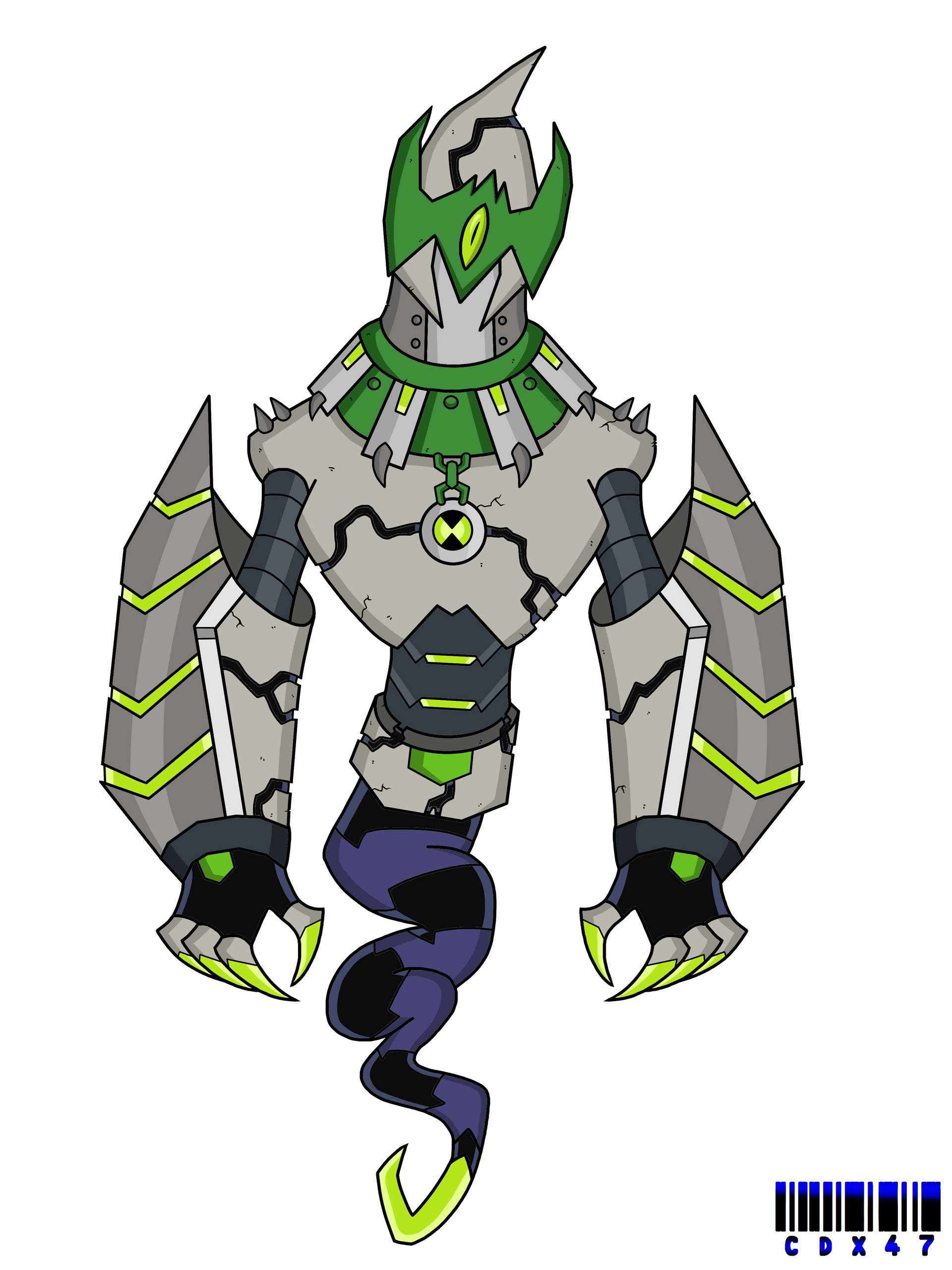 Omni Kix Ghostfreak By Xxcodex47xx On Deviantart Ben 10 Ben 10 Alien Force Ben 10 Omniverse