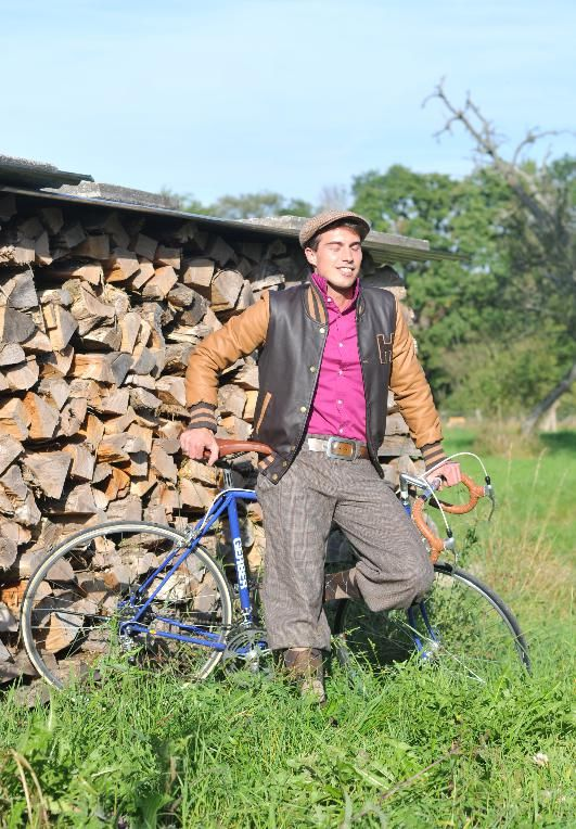 strapinksi knickerbockers, brown, cyclestyle