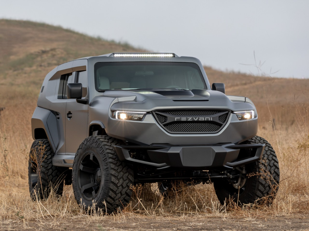 Rezvani Tank X Bulletproof Urban War Machine Becomes The World S