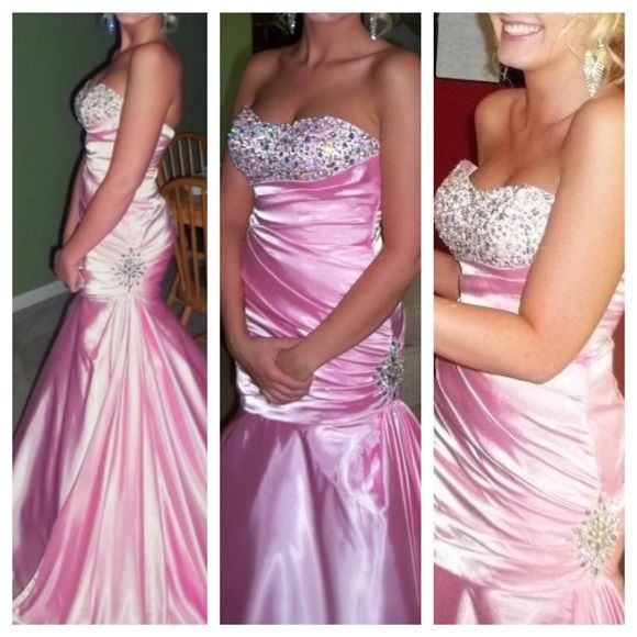 Selling this HUGE PRICE DROPSize 2 Corset Prom Dress in my Poshmark ...