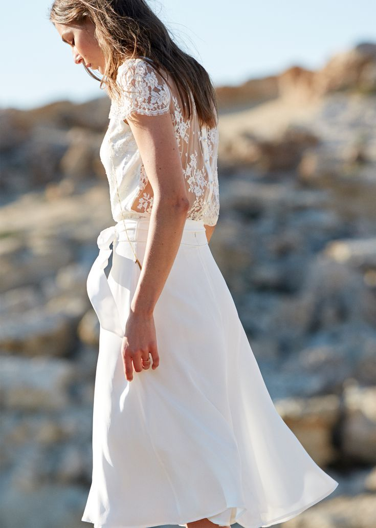 This Is Not a Drill: Our Two Favorite French-Girl Brands Paired Up for One Killer Bridal Collection