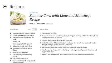 buy recipe menu cooking planner microsoft store