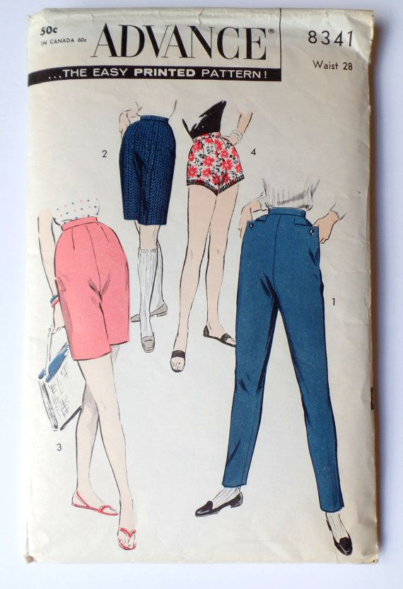 High Waisted Pants Sewing Pattern Images - origami instructions easy ...