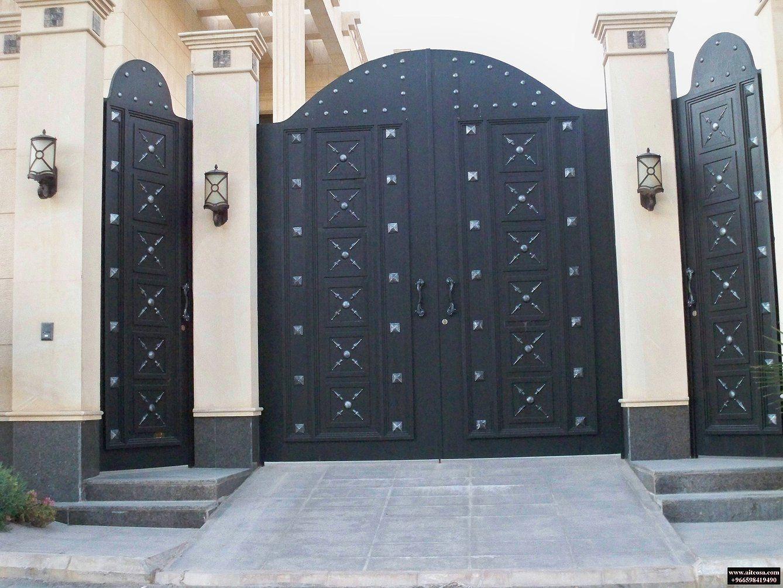 Pin By أحمد المطيري On ابواب خارجية Iron Gate Design Front Gate Design Gate Design