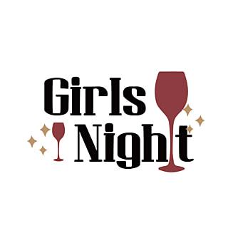 Black Girl Night Simple Phrase Svg Girls Night Black Girl Free Black Girls