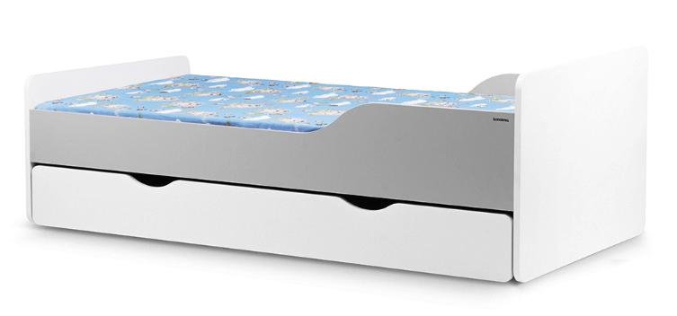 Lozko Dzieciece Biale Pojemnik Szuflada Konsimo 7359157605 Oficjalne Archiwum Allegro Step Stool Furniture Home Decor