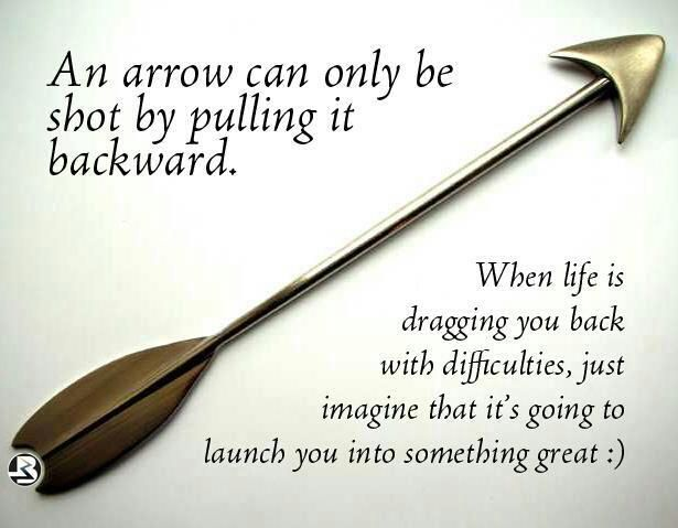 Arrow Quotes An Arrow Can Only Be Shotpulling It Backward.words To Live .