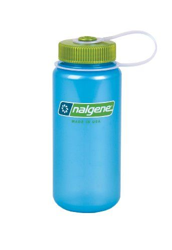 107a5ea98 Nalgene Translucent Wide Mouth Bottle With Blue Lid | Amazon Finds ...