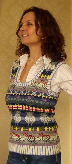 A Great British Knit pattern by Ann Kingstone | Patrones, Puntos y ...