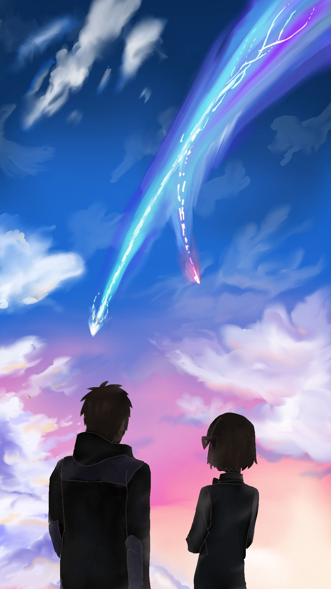 Kimi No Na Wa Your Name Fanart Your Name Anime Your Name Wallpaper Kimi No Na Wa