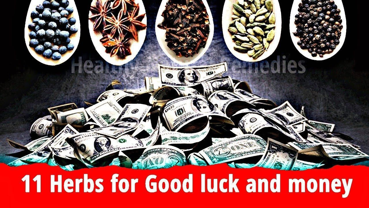 11 Herbs for Good luck, Money and Prosperity - YouTube