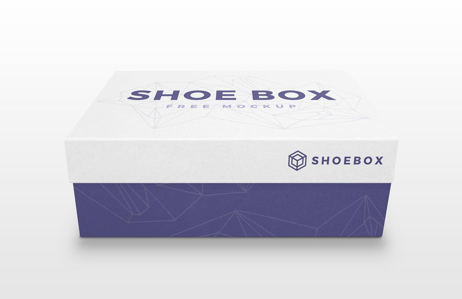 Download Free Shoe Box Mockup Psd Shoe Box Minimalist Shoes Box Mockup