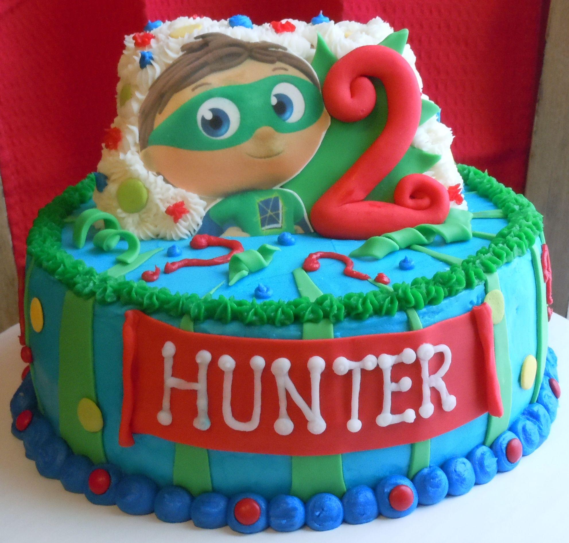 Super Why Birthday Cake Isaacs 2nd Birthday Pinterest