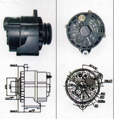 28v 75a Alternator Jfz2971a 37010106000263 For Xichai 6dl1 6dl1e3 Alternator Replacement Parts Stuff To Buy