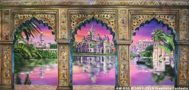 Indian Palace Arches 1 Around The World 20 Ft X 40 Ft