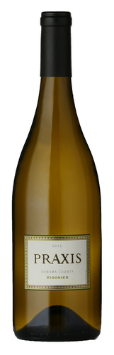 2012 Praxis Viognier Dry and full bodied with a lingering finish of ripe fruit. The color is pale straw with hints of green.  Delicate floral and citrus scents are followed by guava, jasmine and white pear notes with a hint of ginger.  Rich flavors of white peach and apricot are present immediately, while tropical fruits are more apparent on the palate as the wine opens. $18.00 per bottle Delivermywine.com 888-959-7721