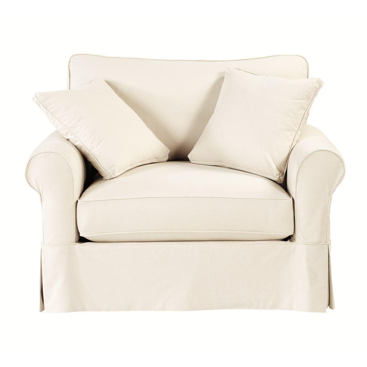 Baldwin swivel chair slipcover com ballard designs