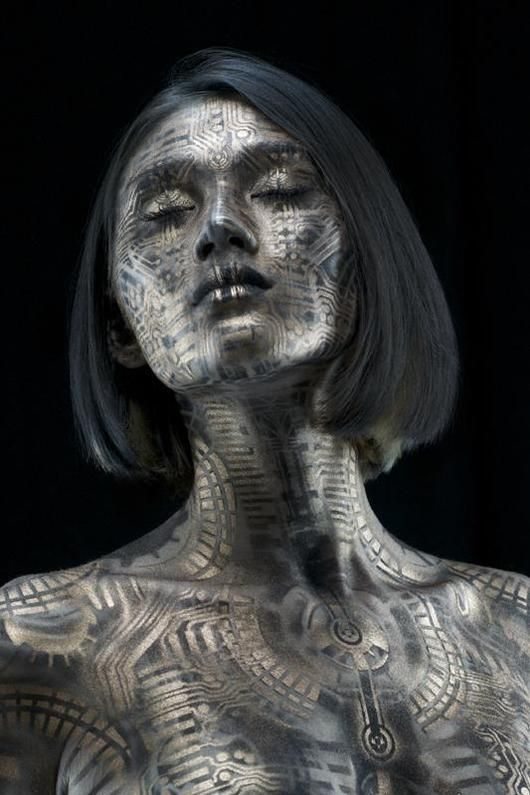 Body Painting by Michael Rosner