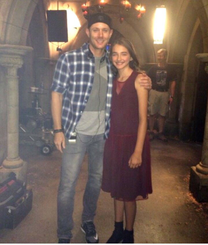Director.Jensen and Tween Amara.