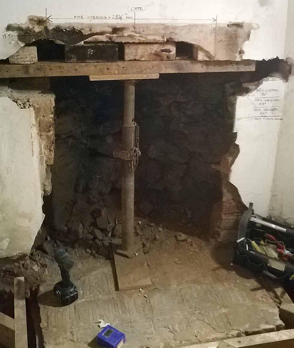 Homebuilding Renovating: Reinstating Or Removing Old Fireplaces