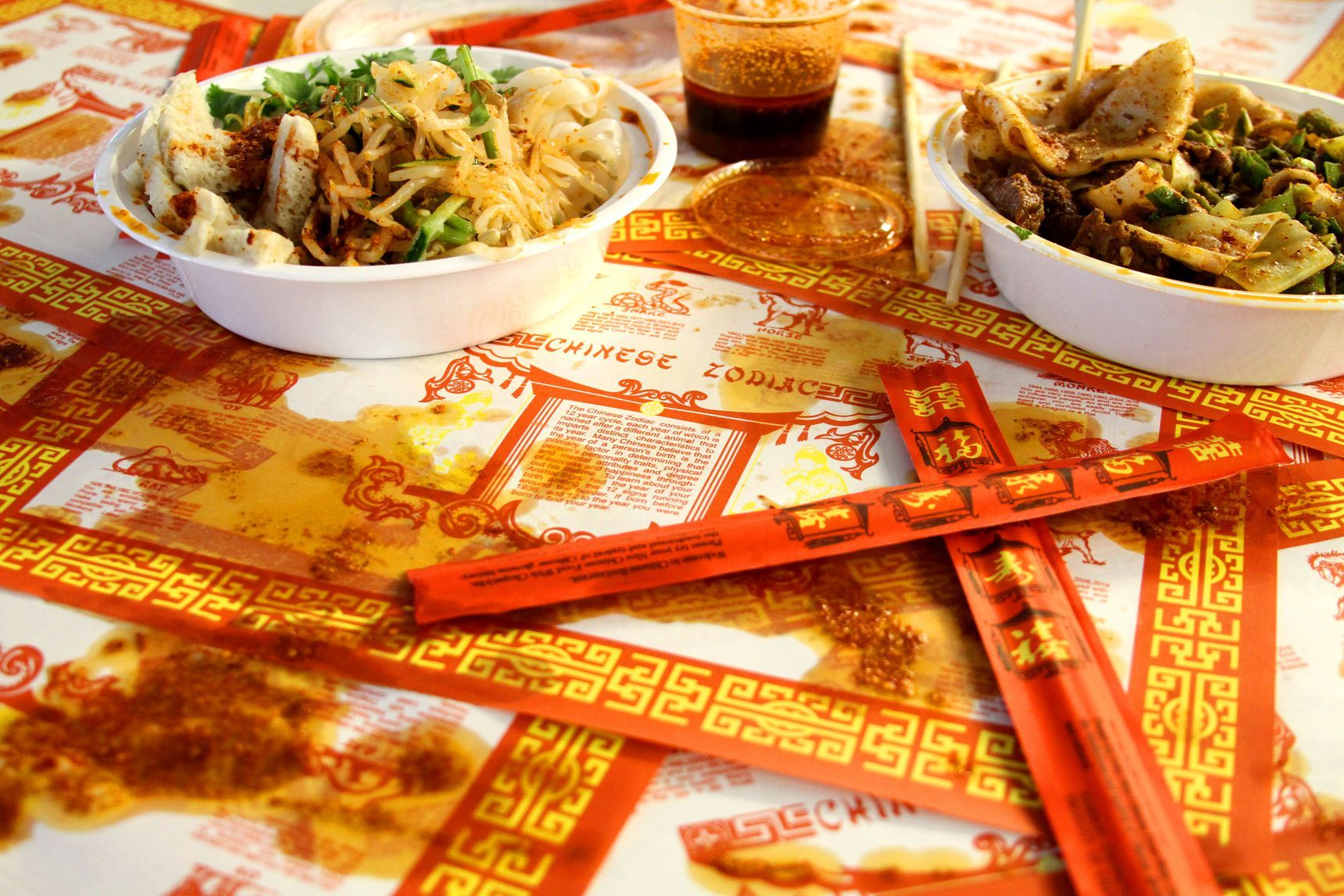 Where Did The All Too Familiar Chinese Zodiac Placemat Come From Chinese Restaurant American Cuisine American Restaurant