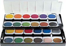 Pelikan Watercolor Set With 24 Colors Opaque Pelikan Http Www