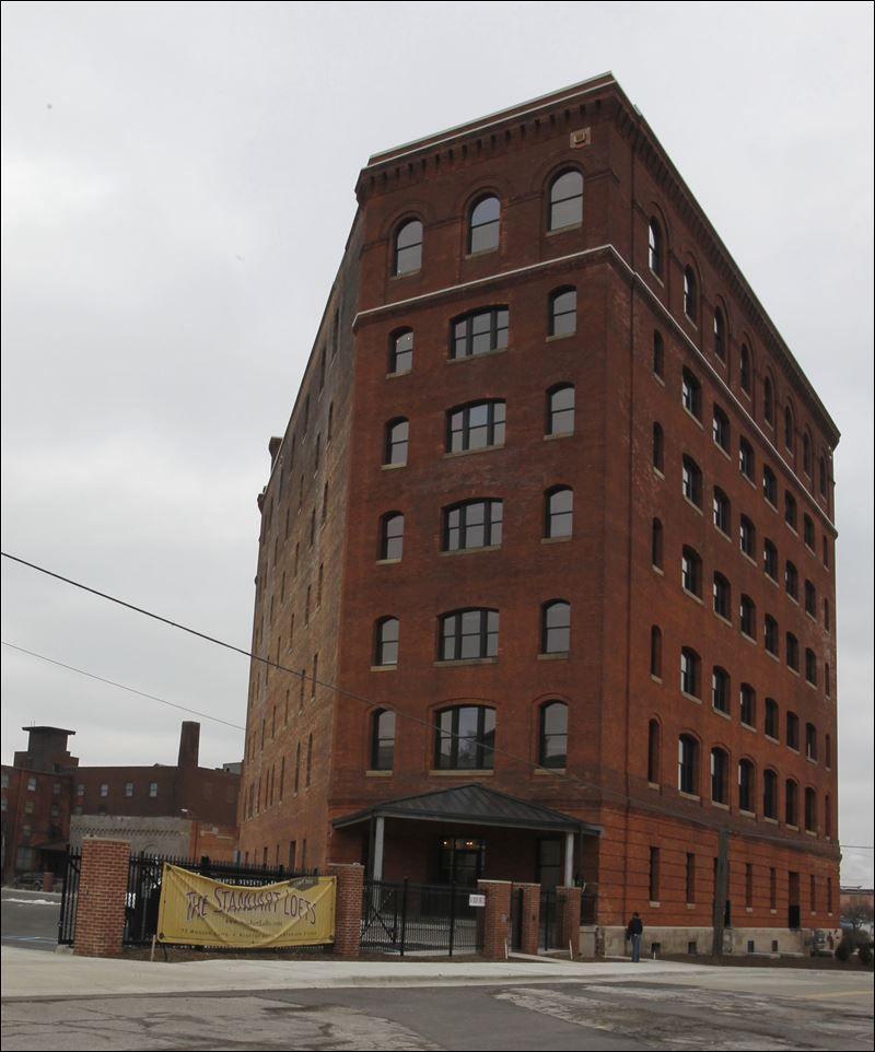 Standart Lofts Toledo Downtown Building Toledo Ohio Architecture