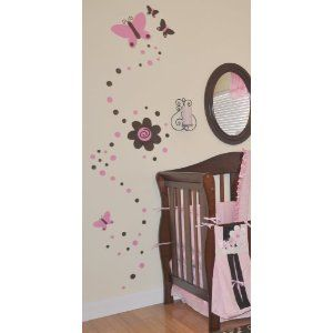 This Would Match Her Bedding Perfectly Butterfly Nursery Decor